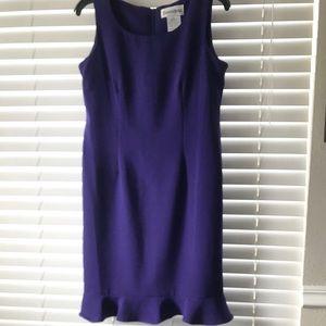 Danny & Nicole Purple Sheath Dress Size 10P